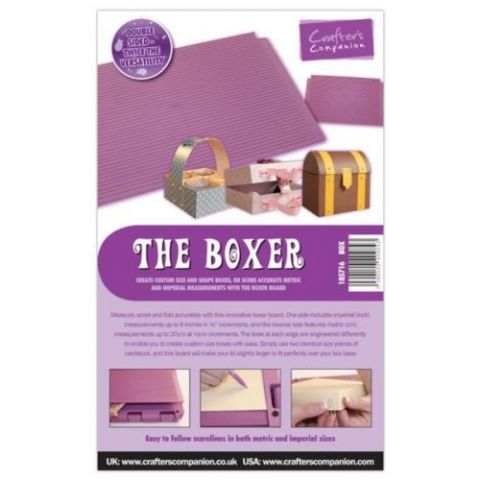 Crafters Companion Ultimate Pro Embossing Board - The Boxer